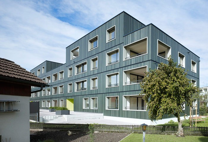 Apartment building «swisswoodhouse» Nebikon
